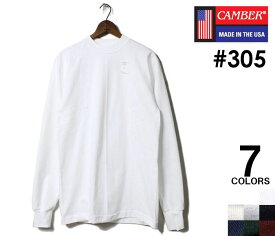 CAMBER キャンバー ロンT 長袖 Tシャツ マックスウエイト MAX WEIGHT LONG SLEEVE T-SHIRTS 305 MADE IN USA (305-MAX-LONG-T)