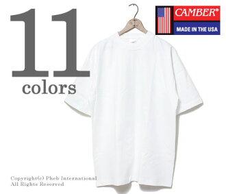 [由于评论促销价格!]キャンバー/CAMBER美国制造的MAX重量T恤