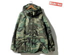 ECWCS GEN1 U.S.ARMY パーカー 90s 後期 米軍 デッドストック DEADSTOCK LARGE CAMO PARKA GENERATION1 MADE IN USA (…