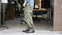 ご予約商品(お届け予定9月頃〜)[送料無料]オアスロウ(オアスロー)/orSlow日本製''ヴィンテージフィット''リップストップ6ポケットカーゴパンツ(03-V5260-RIP)