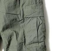 [送料無料]オアスロウ(オアスロー)/orSlow日本製''ヴィンテージフィット''リップストップ6ポケットカーゴパンツ(03-V5260-RIP)