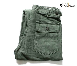 orSlow made in Japan U.S.ARMY fatigue pants Baker pants and utility pants (01-5002)