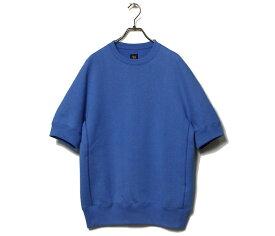 SCYE BASICS サイベーシックス 半袖 スウェット クルーネック プルオーバー Fleece Back Jersey Half Sleeved Sweat Shirt (5121-21717)