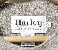 【期間限定!!】【セール/SALE】【20%OFF】[送料無料]ハーレーオブスコットランド/HARLEYOFSCOTLAND英国製''シャギードッグ''シェトランドニット・セーター(HARLEY-2474-7)