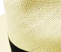 ソルバッティ/SORBATTIイタリア製リボン付き中折れストローハットパナマハット(SBB17SS-01)