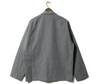 アルテリアULTERIORシャツツイステッドシャンブレーギャバジンオーバーシャツTWISTEDCHAMBRAYGABARDINEOVERSHIRTMADEINJAPAN(ULSH05-20A18U)