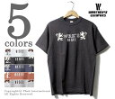 ウエアハウス/WAREHOUSE 日本製 ''WRE'S'' プリントTシャツ (17SS-WH4601-WRES)