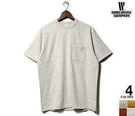 【ネコポス送料200円】 ウエアハウス WAREHOUSE プレーン ポケT Tシャツ ポケット 新色 PLAIN T-SHIRTS WITH POCKET 2020SS NEW COLOR MADE IN JAPAN (WH4601-POCKET-TEE-20SS)