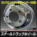 【車★ホイール】 RTGスチールトラックホイール ★ 5.50-16 (115) クロームメッキ