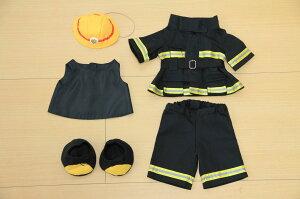 ダッフィーS用消防士防火服とヘルメットのセット