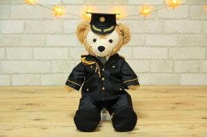 ダッフィーS用警察官儀礼服と帽子のセット
