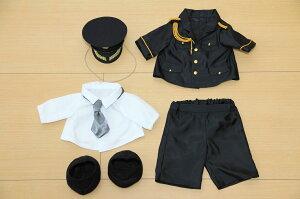 ダッフィーS用警察官儀礼服と帽子のセット詳細