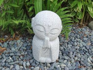 【送料無料】【地蔵】【お地蔵さん】御影石で出来たにっこり地蔵【大】です