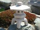 【送料無料】古代雪見(1尺・サビ色・角型)日本庭園の定番商品!!こちらのサイズは坪庭や玄関まわりなどにピッタリです♪