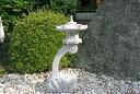 【送料無料】蘭渓灯篭(1尺)【御影石】玉砂利の上などに飾って頂くとより一層引き立ちます♪