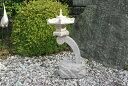 【送料無料】蘭渓灯篭(1尺)【錆び石】玉砂利の上などに飾って頂くとより一層引き立ちます♪