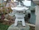 【送料無料】雪見燈籠(1尺・角型)【御影石】日本庭園の定番商品!!こちらのサイズは坪庭や玄関まわりなどにピッタ…