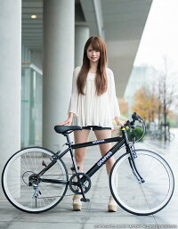 【送料無料】クロスバイク(全9色)24インチシマノ6段変速可動式ステムスタンド付きメンズレディースジュニア女性子供街乗り運動サイクリング通学自転車24インチGRAPHISグラフィスかわいいインスタ映えおしゃれ自転車☆