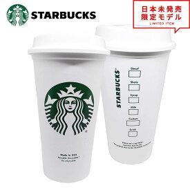 即納 スタバ Starbucks 再利用可能 トラベルカップ US製 コーヒーカップ スターバックス コーヒー グランデサイズ/16オンス 蓋付き 送料無料 ポイント消化 日本未発売 アメリカ限定