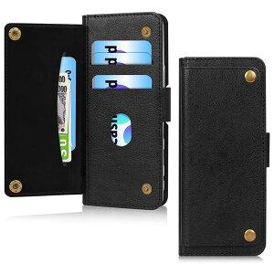 即納 SONY ソニー エクスペリア Xperia 5II SOG02 SO-52A ケース カバー 手帳型 フリップケース 財布型/ブラック スタンド機能 ポイント消化