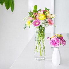 【送料無料】【名入れ】フラワーベース シリンダー L 名入れ花瓶