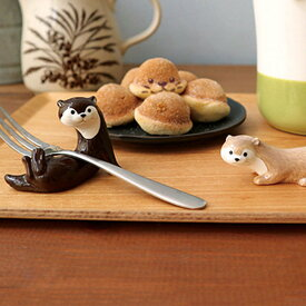 カワウソカフェ カワウソ箸置き チョコ KAWAUSO CAFE