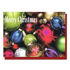 メッセージカード クリスマスオーナメント メッセージ印刷込【ラッピング不可】【ラッキーシール対応】