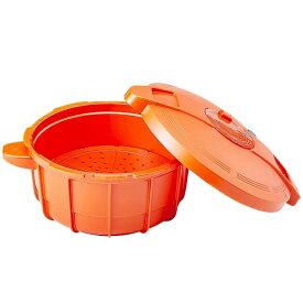 【送料無料】MAYER マイヤー 電子レンジ圧力鍋 パンプキンオレンジ