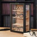 オシャレに飾る 眼鏡収納 メガネタワー 名入れで自分だけのメガネコレクションボックス【ラッキーシール対応】