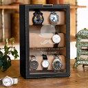 【送料無料】【名入れ】おしゃれな時計収納 ウォッチタワー 時計マニア 腕時計コレクター ショーケース 開店祝い