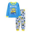 新入荷 キャラクター ミニオン パジャマ 長袖Tシャツ&ロングパンツ セット 男の子 キッズ 子どもパジャマ 子供 パジャマ