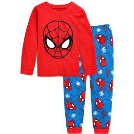 4e32accbec76d1 再入荷 スパイダーマン 長袖 パジャマ 赤/青色 長袖Tシャツ&ロングパンツ セット 男の子