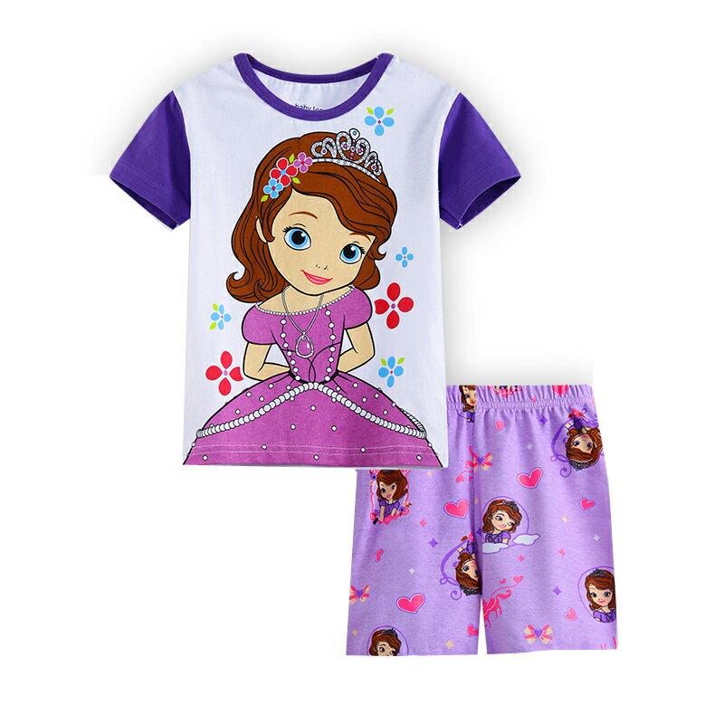 プリンセスソフィア 半袖Tシャツ ショットパンツ パジャマ 上下セット 女の子 パジャマ 子ども 子供 キッズ パジャマ 半袖 キャラクタ パジャマ