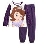 ゆうパケット送料無料プリンセスソフィア長袖Tシャツロングパンツパジャマ上下セット女の子パジャマ子ども子供キッズパジャマ長袖キャラクタパジャマ