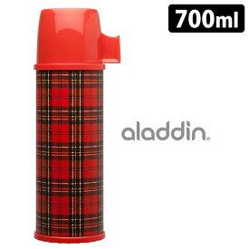 aladdin レッドチェック ステンレス水筒 0.7L /アラジン 【ポイント10倍/送料無料/在庫有/あす楽】【RCP】【p0125】