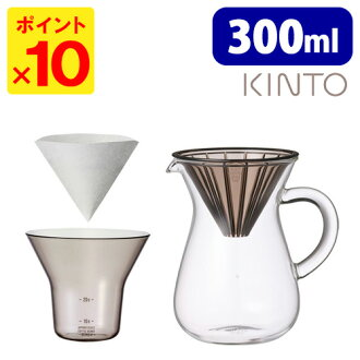 300 ml / KINTO plastic coffee carafe set KINTO