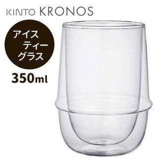 KRONOS 成双层的冰的茶玻璃 / 亲戚 Kronos
