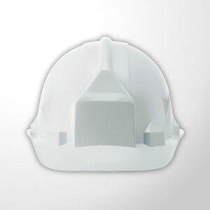 進和化学工業 ヘルメット SS-66型 SS-66型VN-P式R【白】ホワイト 【代引き不可】【沖縄・離島配送不可】