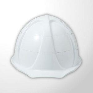 進和化学工業 ヘルメット コンパクメット白【ホワイト】 【代引き不可】【沖縄・離島配送不可】