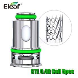 Eleaf GTL M 0.4ohm Head イーリーフGTLシリーズ 0.4Ωコイル5個入りセットiJustAIO/Pico COMPAQ用
