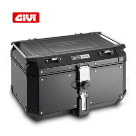 GIVI トレッカーアウトバック アルミモノキートップケース ブラックライン/Givi Trekker Outback 58L OBKN58B