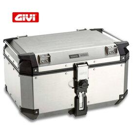 GIVI トレッカーアウトバック アルミモノキートップケース グレーライン/Givi Trekker Outback 58L OBKN58A