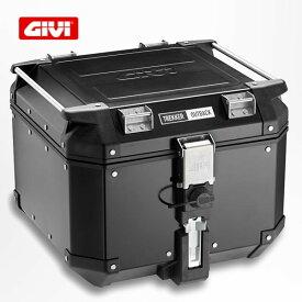 GIVI トレッカーアウトバック アルミモノキートップケース ブラックライン/Givi Trekker Outback 42L OBKN42B