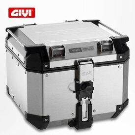 GIVI トレッカーアウトバック アルミモノキートップケース アルミライン/Givi Trekker Outback 42L OBKN42A