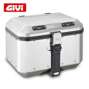 GIVI DLM46トレッカードロミティ アルミモノキーケース 天然アルミニウム仕上げ46リットル/Dlm46 Trekker Dolomiti Aluminum DLM46A