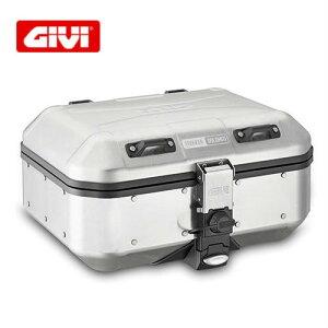 GIVI DLM 30Aトレッカードロミティ アルミモノキーケース 天然アルミニウム仕上げ 30リットル/Dlm30 Trekker Dolomiti Aluminum DLM30A