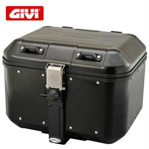 GIVI DLM46トレッカードロミティ アルミモノキーケース ブラック 46リットル/Dlm46 Trekker Dolomiti Black DLM46b