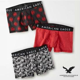 """アメリカンイーグル メンズ ボクサーパンツ ボクサーブリーフ AEO 3 """"クラシックトランク アンダーウェア 3枚パックAmerican Eagle AEO 3"""" Classic Trunk Underwear 3-Pack"""