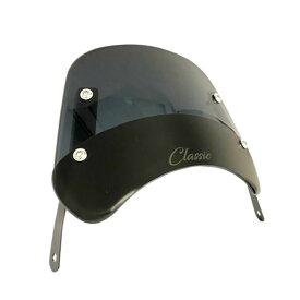 ホンダ ハンターカブ CT125用スモーク ウインドシールドCT37 Black Windshield Classic for CT125