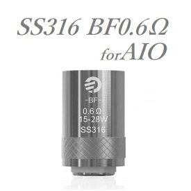 【メール便送料無料】Joyetech AIOシリーズ対応 SS316 BF0.6Ω 5pcsコイル